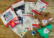 Large Lot Of 10 Packs Of Christmas Crafts/ Activities Kits For Kids!