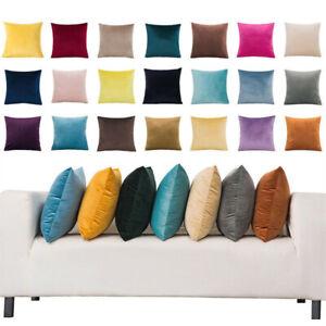 Modern Pillow Case Sofa Waist Throw Cushion Solid Corn Pillow Cover Home Decor