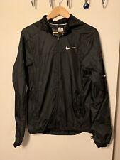 Nike Dri Fit Black Running Windbreaker Top S