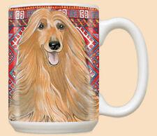 Afghan Hound Ceramic Coffee Mug Tea Cup 15 oz