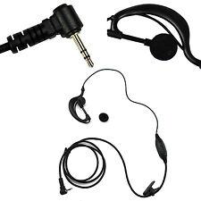1X Headset/Earpiece Mic For Motorola Radio Talkabout Walkie Talkie New G shape