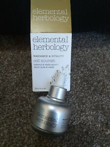 Elemental Herbology Cell Nourish Radiance and Vitality Facial Serum 30 ml