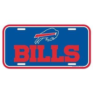Buffalo Bills Football Team NFL Souvenir Plastic License Plate Car Truck