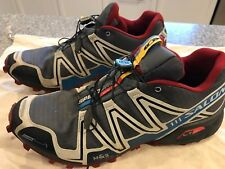 Salomon Speed Cross 3 CS Men Trail Shoes Dark Cloud/Light Grey