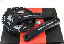 FSA ALPHA DRIVE Square Taper Mountain Bike Crankset 175mm 44/32/22T 9 Speed NEW
