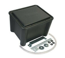 "Moroso Sealed Plastic Battery Box - NHRA Approved 13"" x 11"" x 11"" Black (74051)"