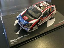 RENAULT CLIO R3 ROBERT KUBICA RALLYE MONTE CARLO 2010 RALLY WRC IXO ALTAYA 1/43