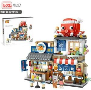 LOZ Japanese Takoyaki Shop (1218)  Mini  Building Block Gift  722PCS