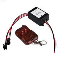 12V Wireless Remote Control Module W/Strobe Flash For Car Light LED Strips 3.2A