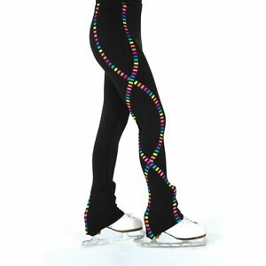 Ribbon Skittles Multi Figure Skating Pants S130