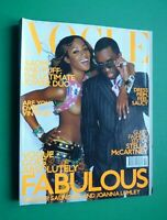 Vogue UK October 2001 Naomi Campbell Kate Moss Angela Lindvall Puff Diddy 10