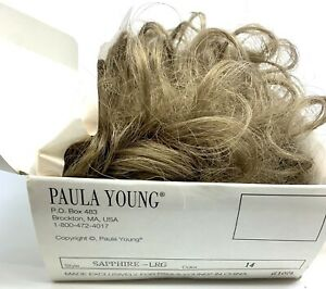 NEW PAULA YOUNG Signature Collection Short Wig Style SAPPHIRE Color # 14 AUBURN