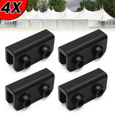 4Pcs  PopUp Gazebo Replacement Connector Spare Parts Rectangular Bracket Tent