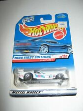 Hot wheels 1st editions 1998 Panoz GTR-1 white odd door tampo made in China base