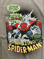 SPIDER-MAN IN THE SEWER CLASSIC GIL KANE COVER CLASSIC T-SHIRT L NEW MARVEL wTAG