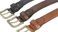 Men's Genuine Leather Casual Dress Belt 1-3/8