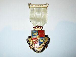 Royal Masonic Institution for Girls Steward Jewel 1959