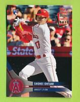 2018 Topps National Trading Card Day - Shohei Ohtani (#8)  Los Angeles Angels