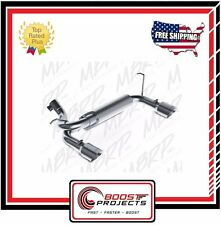 MBRP Jeep Wrangler/Rubicon 3.6L/3.8L V6 Axle Back Dual Rear Exit 07-16 S5528409