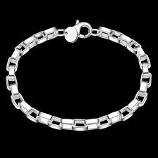 Wholesale 925 Silver Plated Bracelet Women Men Fashion jewelry Gift