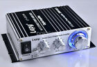 Amplifier Hi-Fi Audio 20W X 2 Lepy Class-D Car LP-2020A Stereo Amp Boat Digital