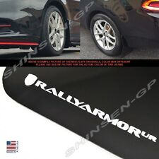 """Rally Armor UR """"Black Mud Flaps with White Logo"""" for 2013-2016 Dodge Dart"""