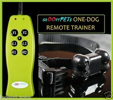 300M Remote Rechargeable Dog Training Shock Vibration Collar No Bark Trainer