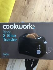 black toaster 2 slice Brand New Boxed