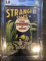 STRANGE TALES #79 CGC 5.0 Kirby/Ditko cvr/art Dr. Strange prototype Atlas Comics