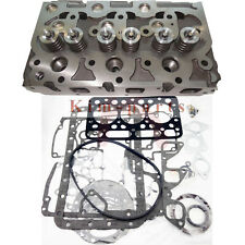New Kubota D1402 Complete Diesel Cylinder Head With Valves & Full Gakset