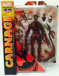 Diamond Select Toys Marvel Select Carnage Action Figure (Discontinued) Mint New