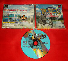 SUPER BLACK BASS X Ps1 Japan Version ○ USATO - C6