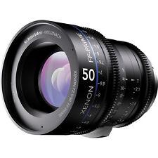 New Schneider 09-1078001 Xenon FF 50mm T2.1 Prime Lens Canon EF Mount Feet
