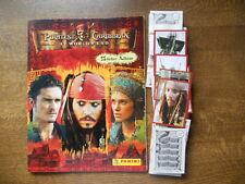 PANINI EMPTY ALBUM + ALL  STICKERS OF PIRATEN OF THE CARIBBIAN