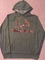 REALTREE XTRA Camo BUCK deer HUNTER Hunting MEN'S New Jacket Hoodie Sweat SHIRT
