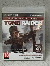 JEUX PS3 TOMB RAIDER EDITION JEU DE L'ANNEE AVEC NOTICE PLAYSTATION