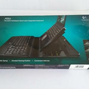 Logitech Alto Portable Notebook Stand With Integrated Keyboard