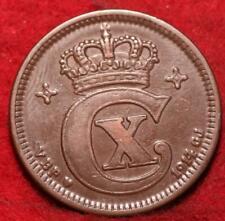 1914 Denmark 5 Ore Foreign Coin
