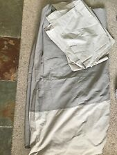 IKEA King Size Duvet cover & 4 pillow cases, beige, used once
