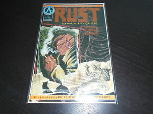 RUST #1 Special Limited Foil Edition 1st app. SPAWN Adventure NM/NM- number 1280