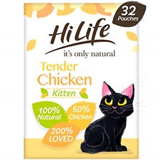 HiLife it's only natural - Complete Wet Kitten Food 1 to 12 months - Tender Pate