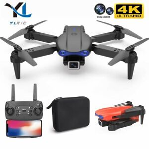 Drone With 4K Camera Small 3 batteries IOS Android Foldable Automatic Return