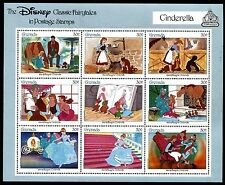 Grenada 1542 Mnh Disney characters Fairy Cinderella 1987 x14426b