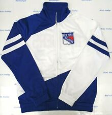 New York Rangers Women's S GIII 4her Perfect Pitch Track Jacket 063
