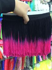 20 CM long tassel fringe polyester lace bow sewn Latin skirt stage 10 m