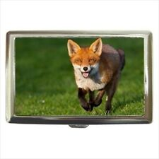 Red Fox Cigarette Money Case