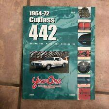 1964-72 Cutlass 442 Year One Restoration Parts & Accessories Catalog 2002 R3102