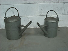 Watering Can 2 gall,Galvanized Watering Can,Ex Army,Unused.