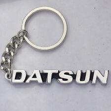 DATSUN Keychain Key Chain Chrome, New to suit 510 521 620 240 260 1600 280Z dato
