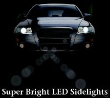 Super White 501 LED ( w5w ) sidelight bulbs FORD Focus & Fusion